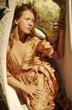 Key To Freedom Silk Kimono Dress
