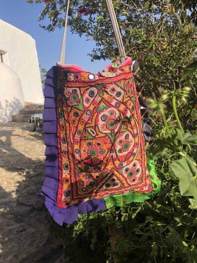 Vintage Indian Heart Bag