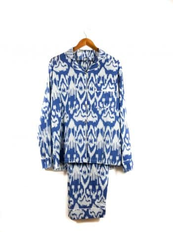 nightwear in blue