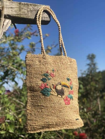 Natural Chipoli Raffia Bag