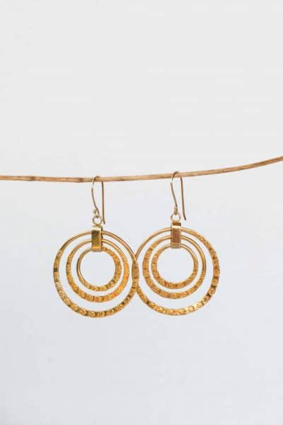 Gold Raj Earrings