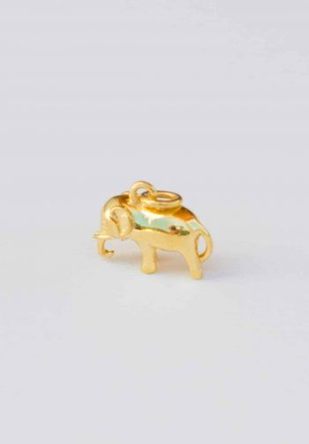 nomadic elly charm gold plated
