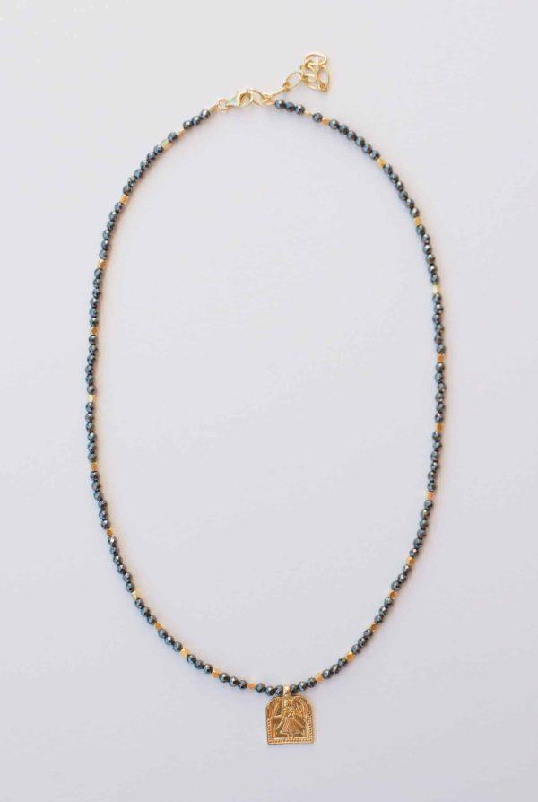 Black Onyx Domestic Goddess Necklace