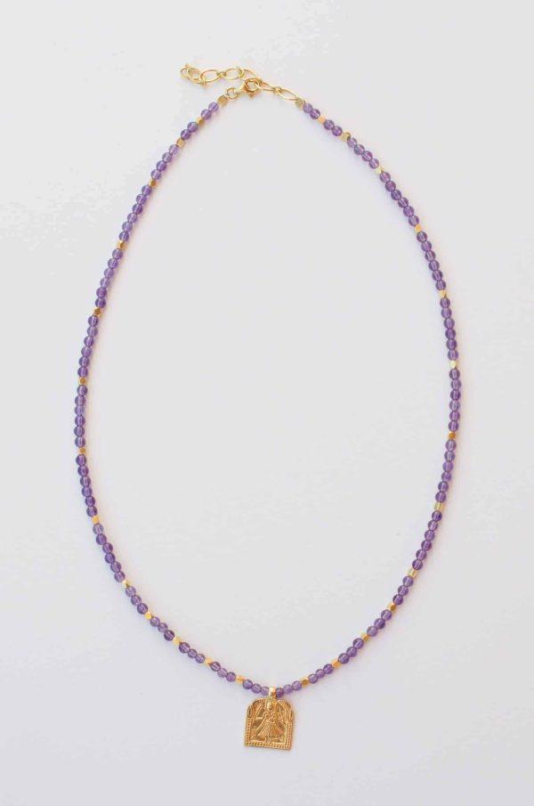 Amethyst Domestic Goddess Necklace
