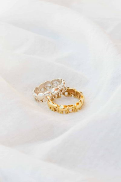 Gold Elly Band Ring