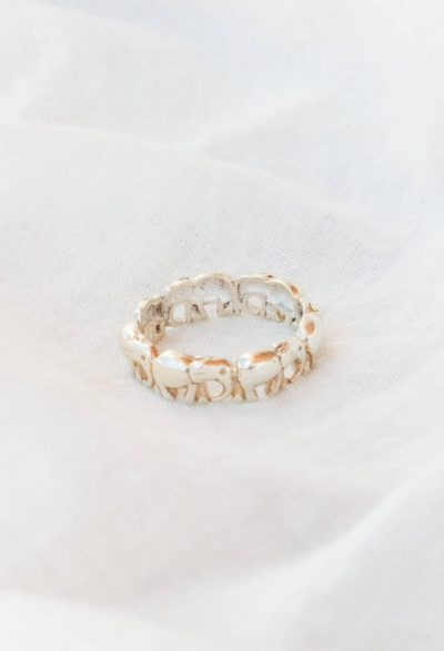 Silver Elly Band Ring