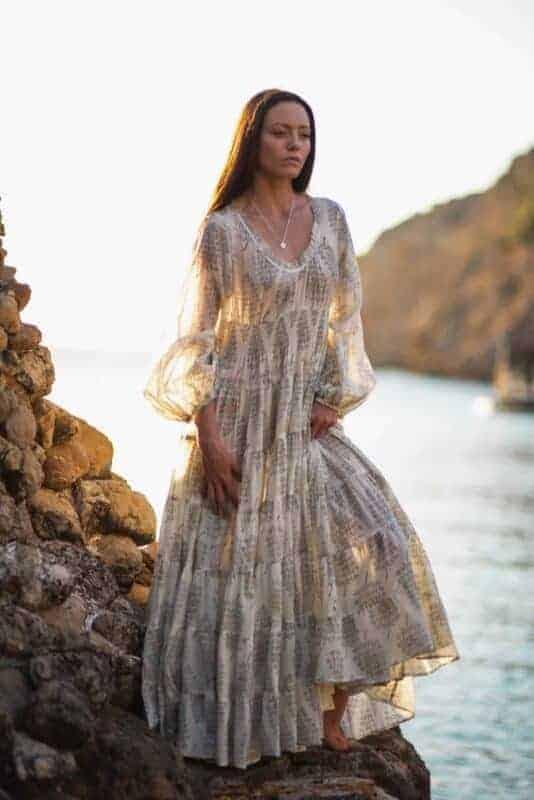 jody dress in cream
