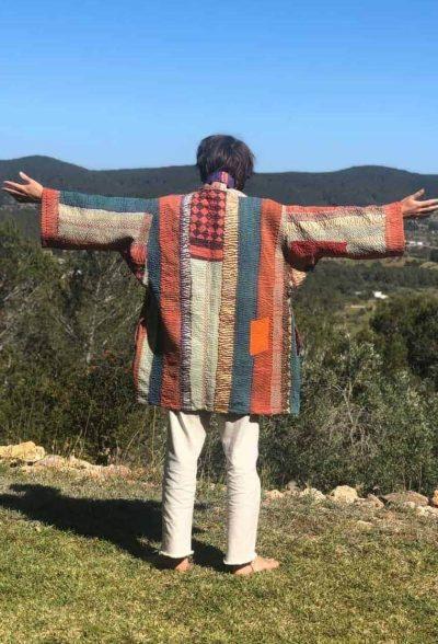 Oversized Kantha Jacket