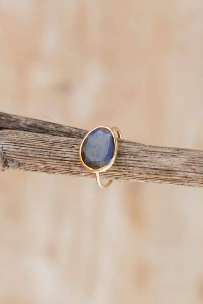 14kt gold wire ring