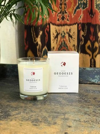 Tuberose Geodesis Scented Candle