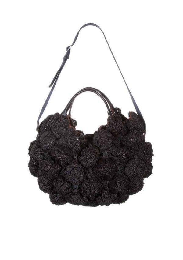 Black Les Rochelets Handbag, Jamin Puech