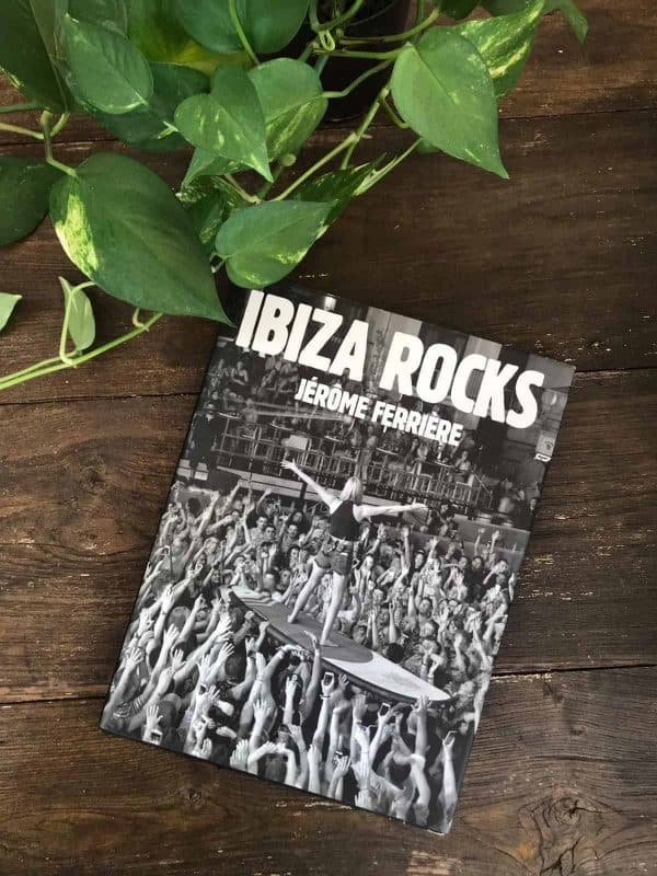 Ibiza Rocks coffee table book by Jerome Ferriere