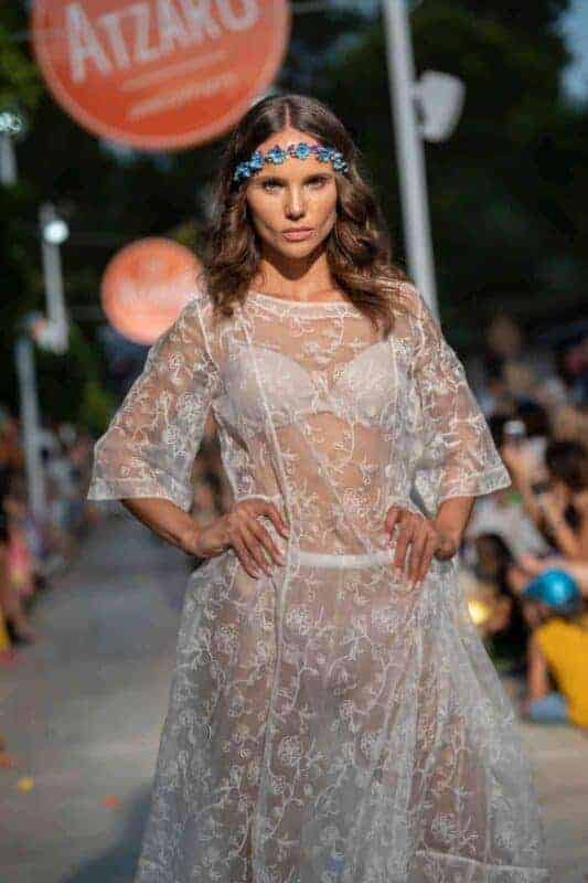 see through dress with floral embroidery