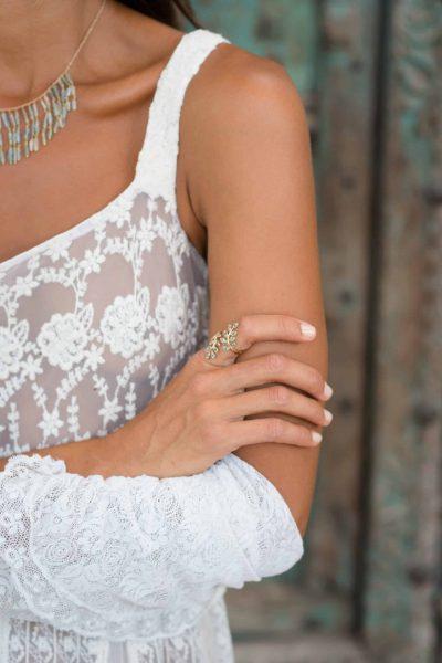Victoria Lace Dress Cream