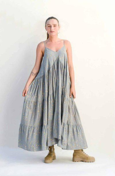 floaty grey dress