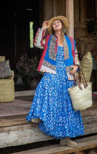 Jody Dress Blue Floral