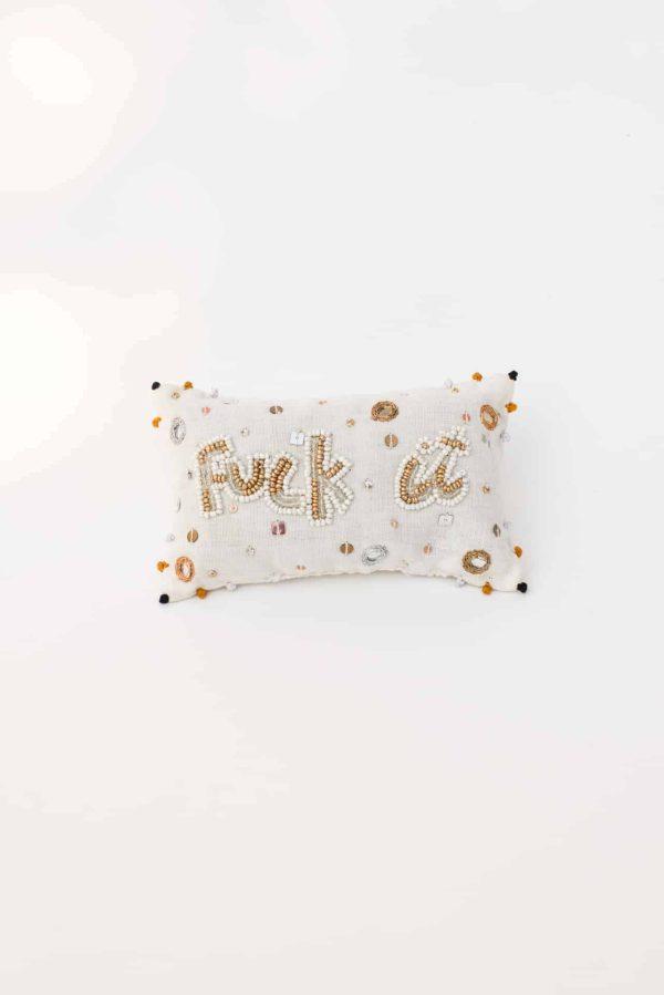 Fuck-it Lavender Pouch Gold