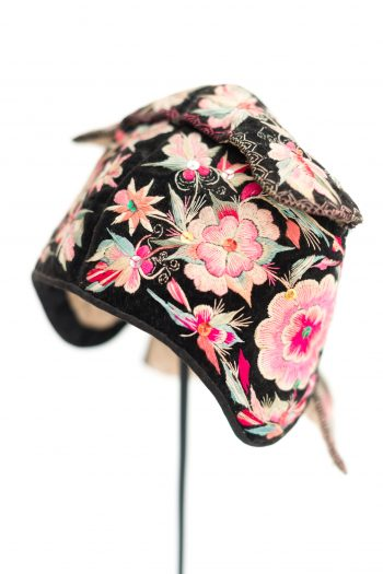 colourful floral embroidery and needlework