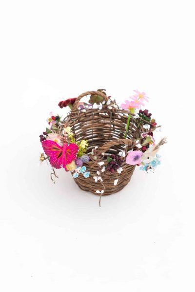 Wonderland Basket Pink