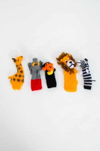 hand knitted finger puppets for kids