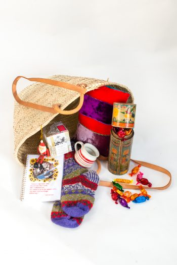 contents of a gift basket