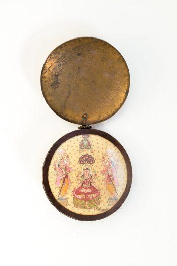 brass circular shrine
