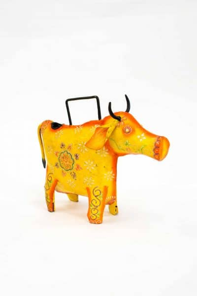 Watering can in the shape of a cow