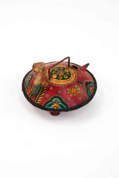 Hand painted turtle watering can