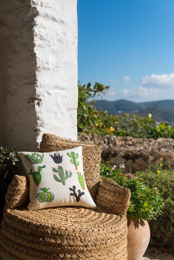 Cactus Garden Cushion Cover