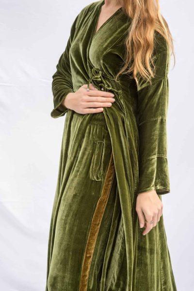 Velvet Sufi Coat