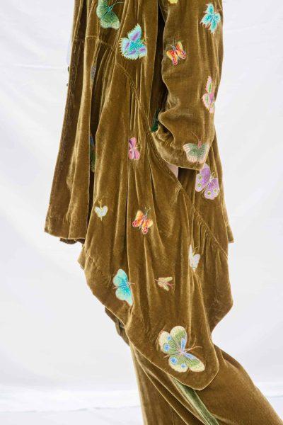 Velvet Butterfly Flying Jacket
