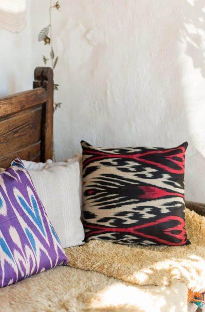 Ikat Love Cushion Cover