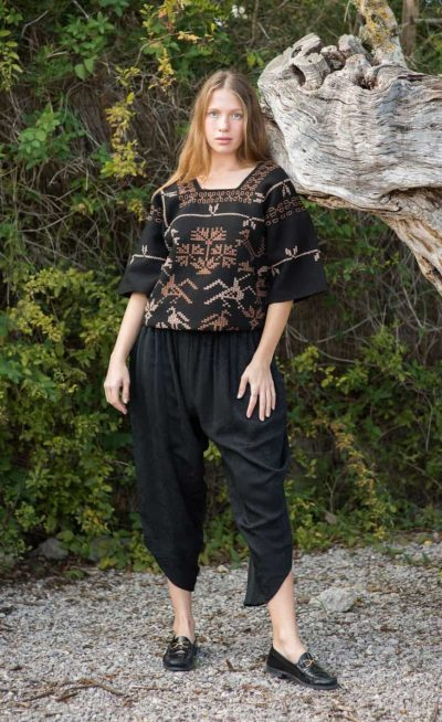 SK Silk Trousers