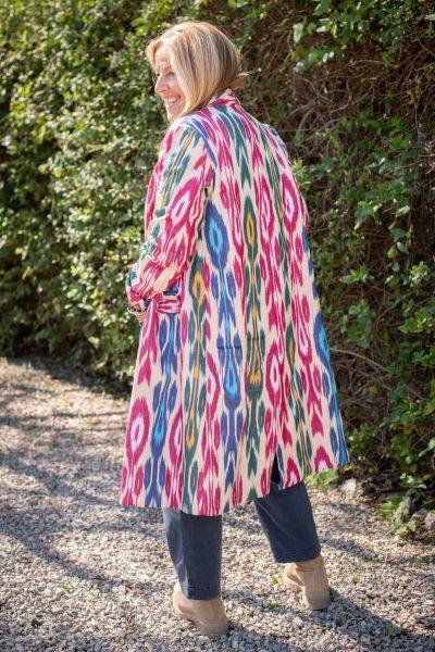 Ikat Kirsty Coat