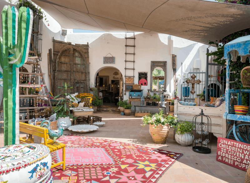 La Galeria Elefante Ibiza Beautifully Decorated Terrace