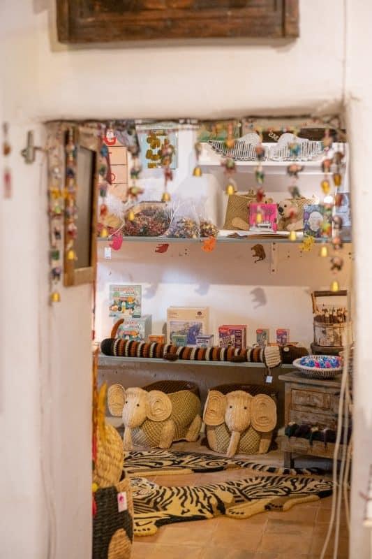 La Galeria Elefante Ibiza Entrance to the Kids' Room