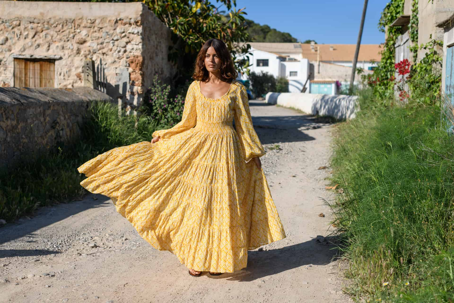 yellow Jodie Dress