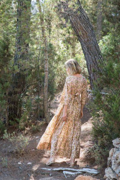 WIF Kimono Dress Silk