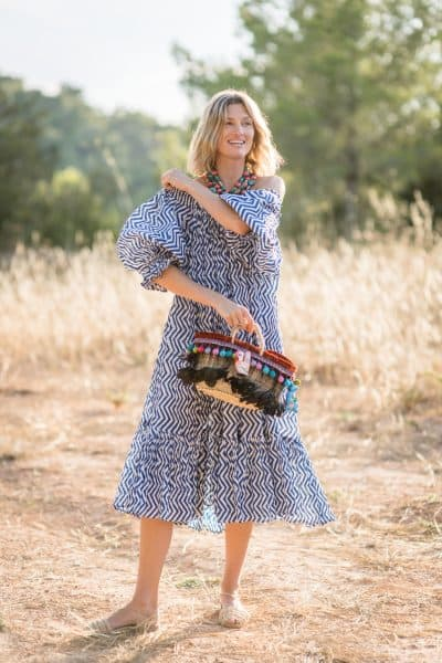 Happy Basket and Sea Dress with necklace