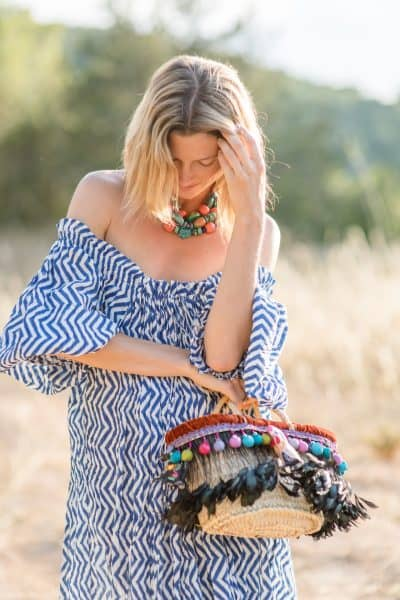 Happy Basket and Sea Dress