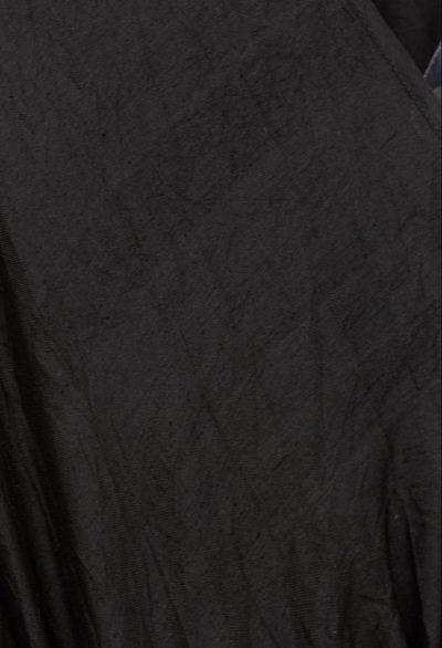 black bishnupuri silk