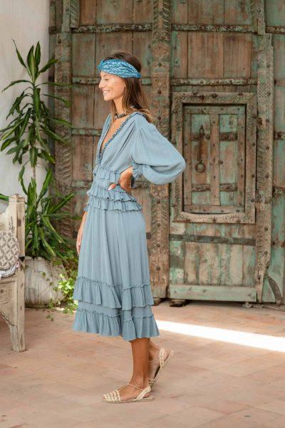 Blue Tango Dress