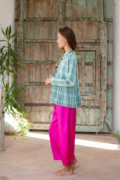 Silk Satin Judo Pants