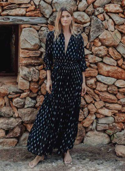 easy to wear lurex dress