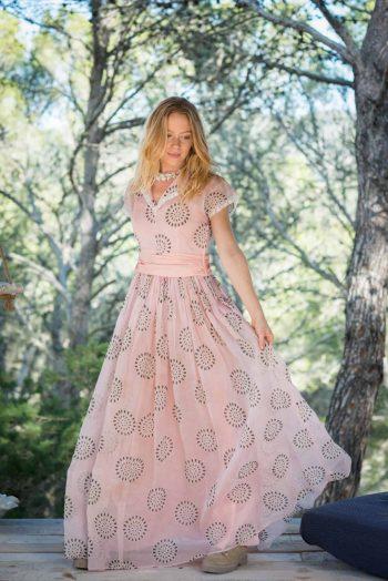 cotton organza dress