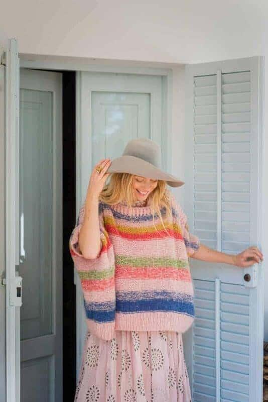 mohair box sweater