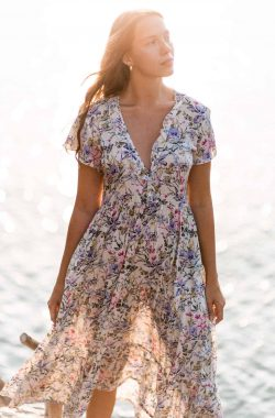 loose fitting summer dress