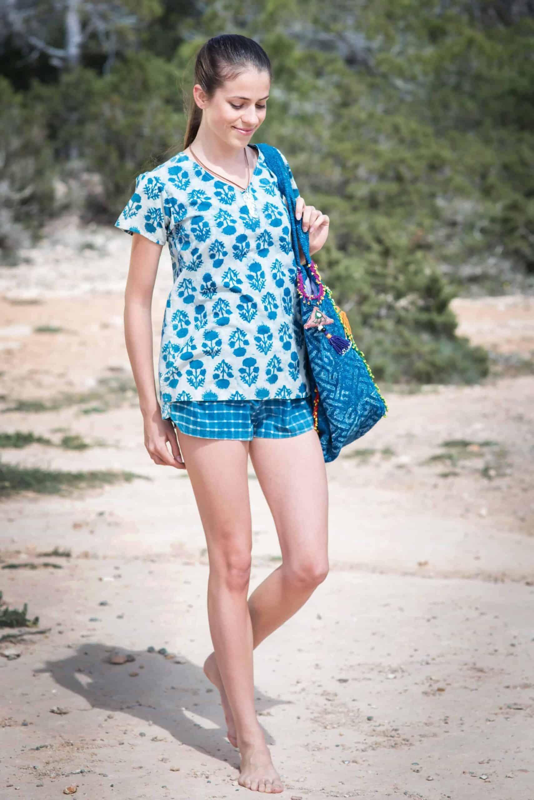 Sunny Day cute t-shirt & shorts
