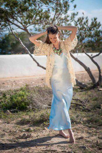 Silk Slip Dress La Galeria Elefante Ibiza Victoria Made With Love & Laughter