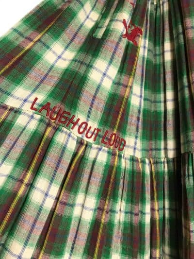 laugh out loud embroidery